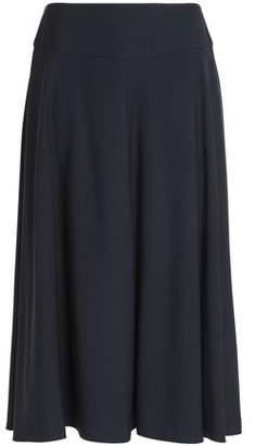 Jil Sander Flared Wool-Blend Midi Skirt