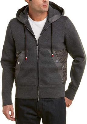 Moncler Hooded Down Sweatshirt
