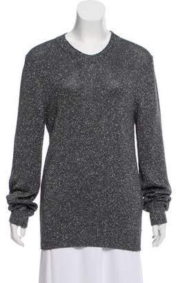 Dolce & Gabbana Metallic Knit Sweater