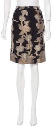 Vena Cava Fil-coupé Metallic Skirt