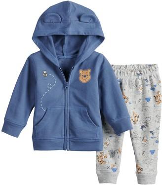 Pooh Baby Disneyjumping Beans Disney's Winnie The Girl Hoodie & Pants Set by Jumping Beans