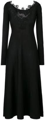 D-Exterior D.Exterior lace trim dress