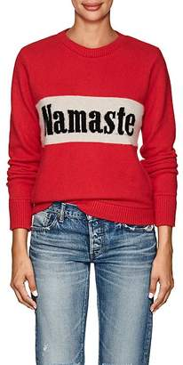 "The Elder Statesman Women's ""Namaste"" Cashmere Sweater"