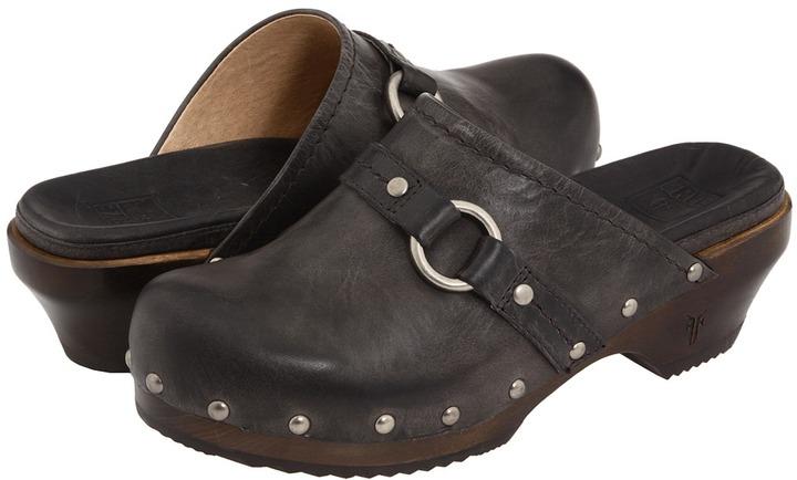 Frye Clara O Ring (Charcoal) - Footwear