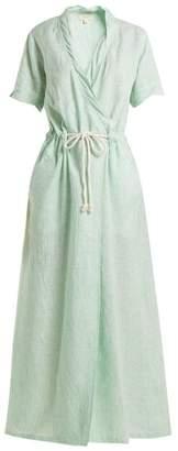 Wiggy Kit - Drawstring Rope Maxi Dress - Womens - Green