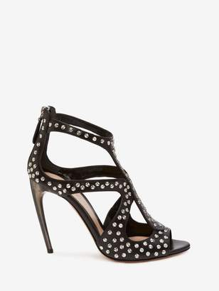 Alexander McQueen Cage Sandal Hammered Studs