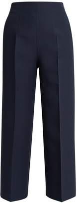 Fendi Wide-leg wool-blend trousers