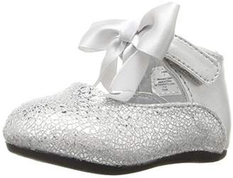 Baby Deer Girls' Metallic with Ankle Strap Slip-on