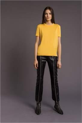 Sonia Rykiel Solid-Colour Wool T-Shirt
