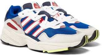 adidas Yung 96 Suede, Leather and Mesh Sneakers - Men - Blue