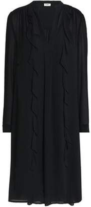 DAY Birger et Mikkelsen Ruffle-trimmed Georgette Dress