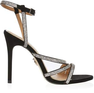 955619a3fb0 Next Lipsy Asymmetric Diamanté Sandals - 35.5 (UK 3)