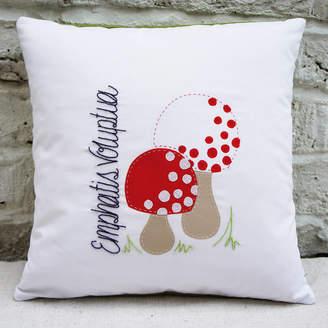 bean ink Made Up Mushrooms Cushion Cover