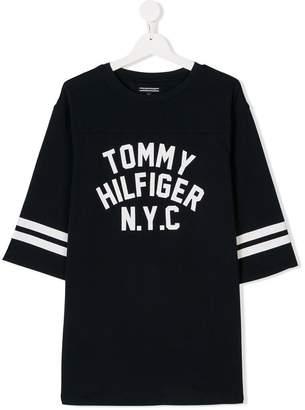 Tommy Hilfiger Junior TEEN logo-print T-shirt
