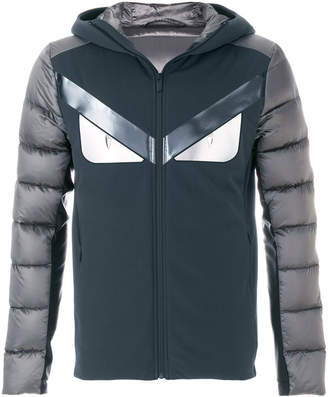 Fendi Bugs padded panel jacket
