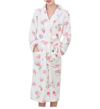 d14a983a26 at Amazon Canada · Doufine-women clothes Doufine Womens Soft Bathrobe  Comfortable Flannel Night-Gown Sleepwear S