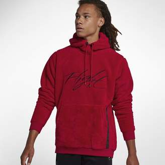 Jordan Sportswear Wings of Flight Men's Sherpa Pullover Hoodie