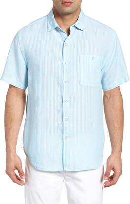 Tommy Bahama Sand Linen Dobby Stripe Shirt