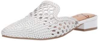 Sam Edelman Women's Clara Mule White Leather 7.5 M US
