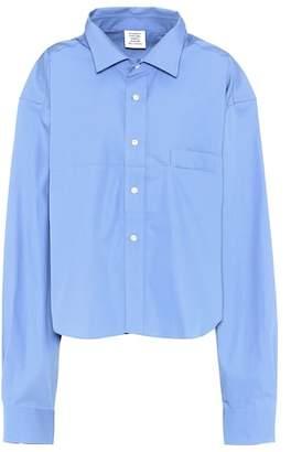 Vetements Cotton shirt