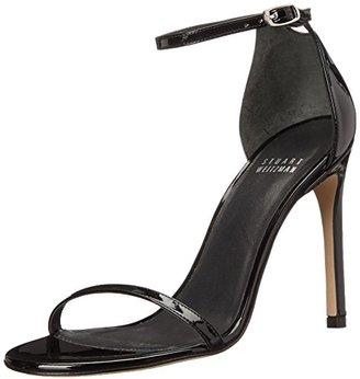 Stuart Weitzman Women's Nudistsong Dress Sandal $398 thestylecure.com