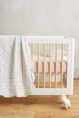 Anthropologie Swiss Dot Toddler Quilt $98 thestylecure.com
