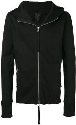 Thom Krom zipped long-sleeve hoodie
