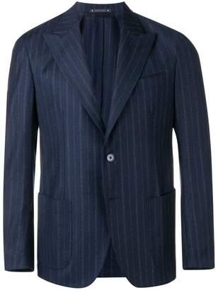 Bagnoli Sartoria Napoli pinstripe wool suit