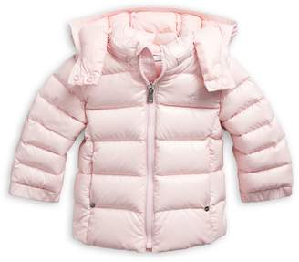 Ralph Lauren Childrenswear Baby Girl's Hooded Quilted Jacket