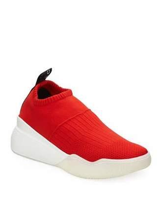 Stella McCartney Loop Sock Nylon Platform Sneakers