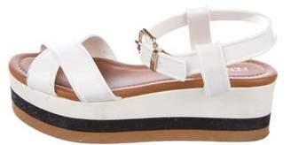 Fendi Jelly Platform Sandals