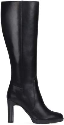 Geox Annya Leather Tall Boots