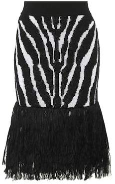 Balmain Embellished pencil skirt