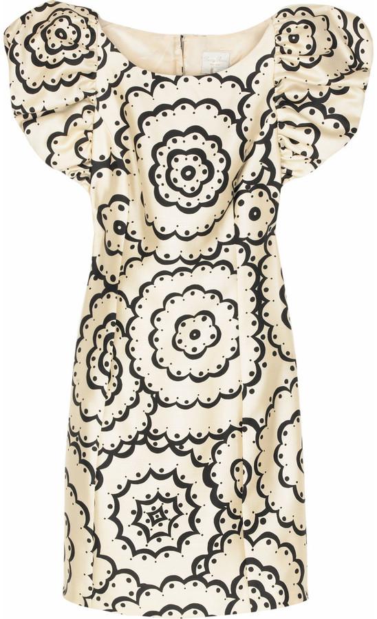 Tracy Reese Puff sleeve mini dress