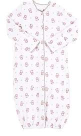 Barneys New York Infants' Lion-Print Convertible Gown-Pink