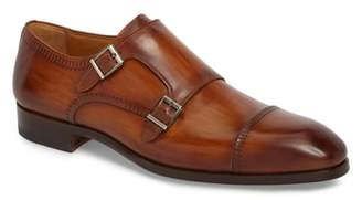 Magnanni Azteca Double Buckle Monk Shoe