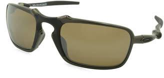 Oakley Sunglasses - Badman / Frame: Pewter Lens: Polarized Brown