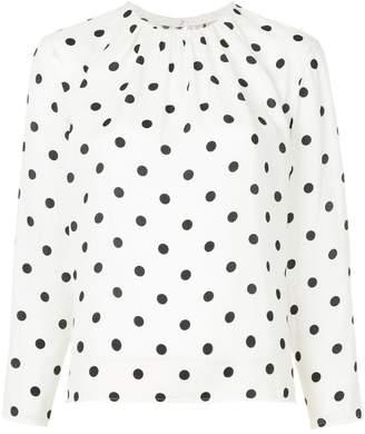 TOMORROWLAND polka dot blouse