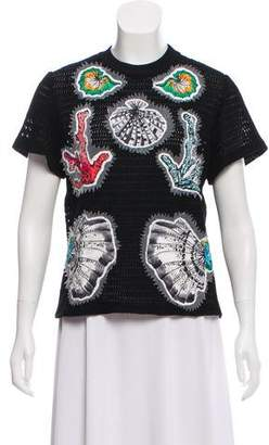 Emilio Pucci Knit Short Sleeve Top