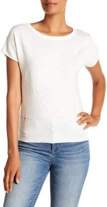 Desigual Crochet Back Short Sleeve Shirt
