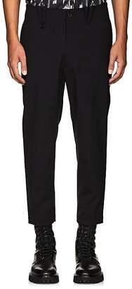 Oamc Men's Stretch-Wool Ankle-Zip Trousers