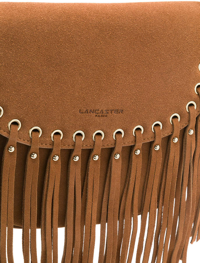Lancaster fringed shoulder bag
