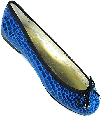 London Sole - Navy/Turquoise Harriet High Flat