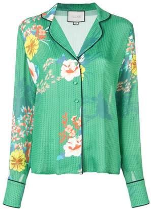 Alexis floral print blouse