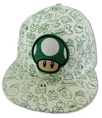 "Bioworld Super Mario ""Mushroom Characters"" Cap Hat"