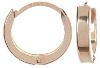 Candela 14K Yellow Gold 12mm Huggie Hoop Earrings