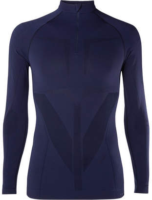 Falke Ergonomic Sport System Warm Stretch-Jersey Half-Zip Top