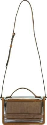 Brunello Cucinelli PVC Top Handle Shoulder Bag