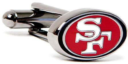 San Francisco 49ers Black Cuff Links