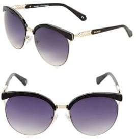 Balmain 57MM Browline Cat Eye Sunglasses